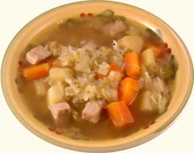 Recipes for cabbage soup