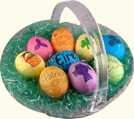 easter eggs. Colored Easter Eggs
