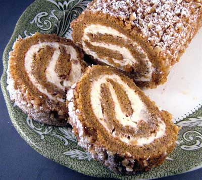 Pumpkin & Cream Cheese Roll