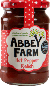 Abbey Farm Hot Pepper Relish