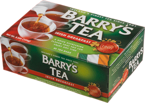 Barrys Tea Green Breakfast 80 Bags