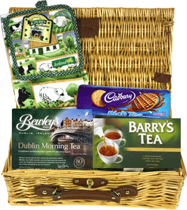 Irish Morning Tea Basket