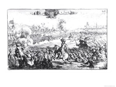 The Battle of the Boyne, July 1st 1690