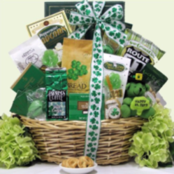 Irish Setter Coffee Gift Basket