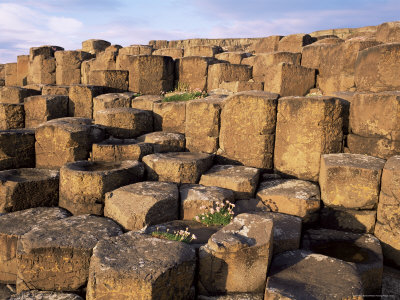 The Giants Causeway, Unesco World Heritage Site, Co. Antrim, Ulster, Northern Ireland