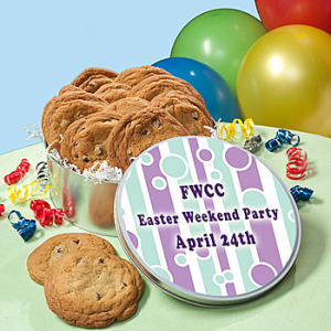 Personalized Easter Cookie Tin