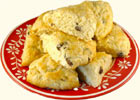 Raisin-Apple Scones