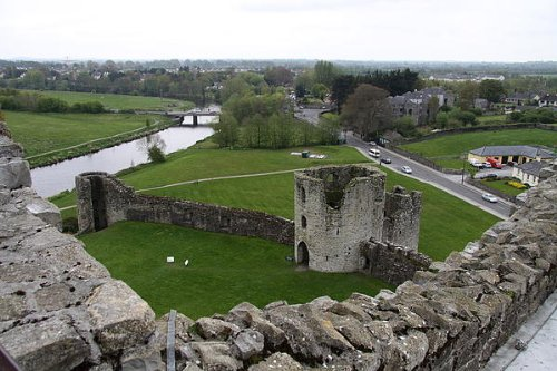 Trim Castle and the River Boyne