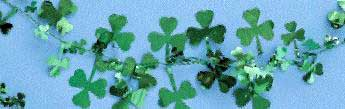 Shamrock Wire Garland Each