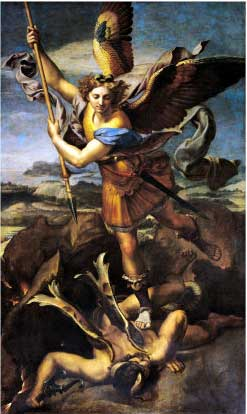 St. Michael Overwhelming the Demon, 1518