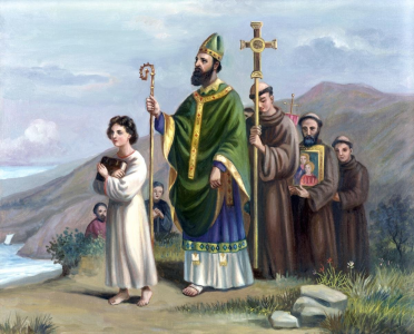 Saint Patrick Going to Tara Ireland