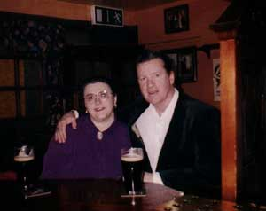 Terry & Tyna at Cryan's Pub